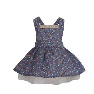 Shecco Babba Blue Floral Girls Dress