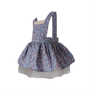 Shecco Babba Blue Floral Girls Dress (2)