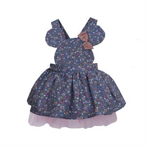Shecco Babba Mini Cute Blue Girl Dress