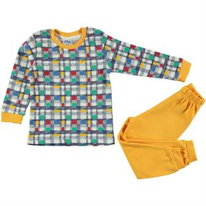 Civil Boys Team Mustard A Pajama Boy Age 2-5