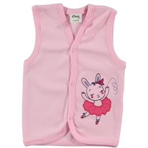 Civil Baby 3-12 Months Pink Baby Girl Vest
