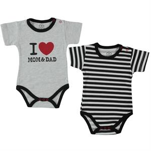 Babycool Baby 2-3-12 months black Bodysuit with snaps