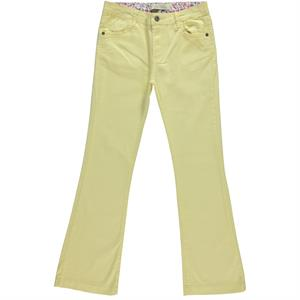 Cvl 14-16 Girl Child Bell Bottoms Yellow