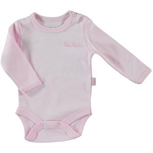 Pierre Cardin 0-36 Months Baby Pink Bodysuit With Snaps
