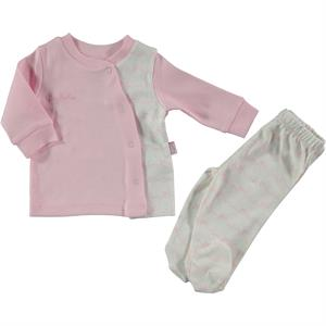 Pierre Cardin Pink Baby Suit 0-9 Months