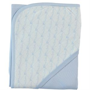 Pierre Cardin Baby double layer Blanket Blue 90 x 75 cm