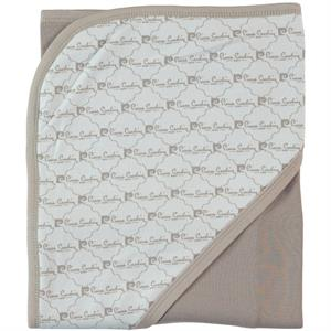 Pierre Cardin Baby double layer Blanket 90 x 75 cm Brown