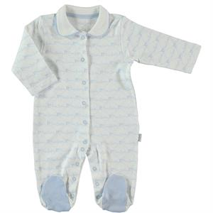 Pierre Cardin Oh Baby's Baby Booty Blue Coverall 3-9 Months