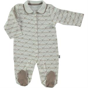 Pierre Cardin Oh Baby Overalls Baby's Booty Brown, 3-9 Months