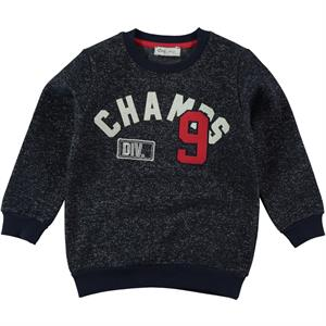 Cvl 2-5 Years Kids Boy Navy Blue Sweatshirt