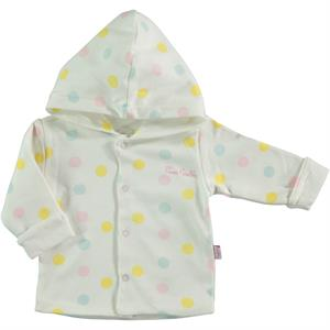 Pierre Cardin 6-24 Months Baby Pink Hooded Cardigan