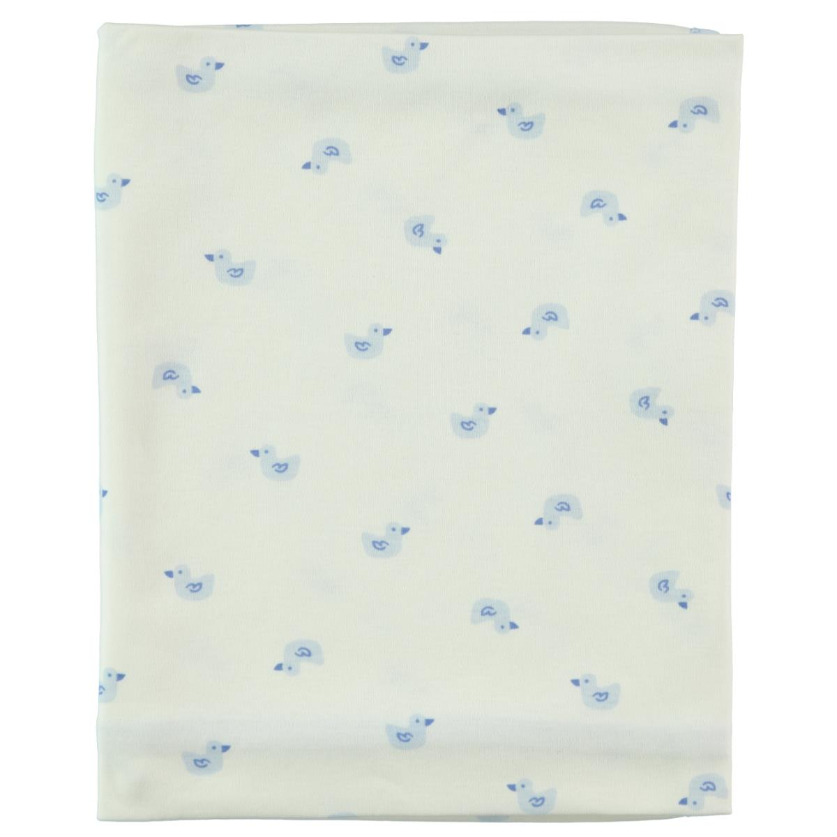 Civil Baby A single layer 80x 90 cm Blanket Blue baby