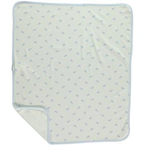 Civil Baby A single layer 80x 90 cm Blanket Blue baby (2)