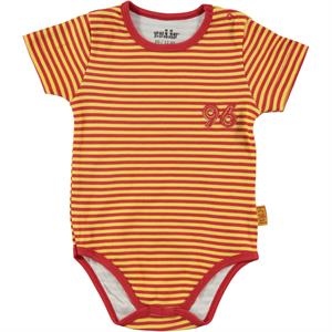 Kujju Baby Boy Striped Snappers Of Badi12-24 Months Yellow
