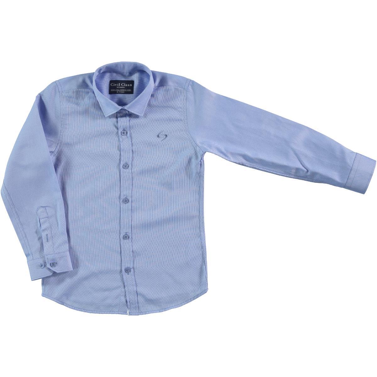 Civil Class Age 6-9 Boy Blue Shirt