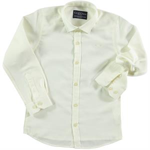 Civil Class Ecru Shirt Age 6-9 Boy