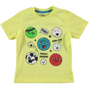 Cvl Boy T-Shirt Yellow 2-5 Years