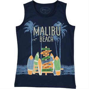 Cvl Boy T-Shirt Navy Blue Age 6-9
