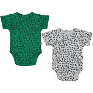 Minidamla Yesil 0-9 months Bodysuit with snaps albim combing the 2