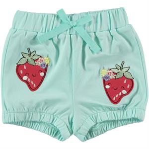 Kujju Baby Girl Mint Green Shorts The Ages Of 6-18