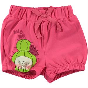 Kujju Baby Girl Fuchsia Shorts The Ages Of 6-18