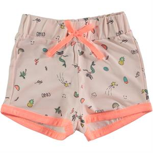 Cvl Powder Pink Shorts Girl Boy Age 2-5