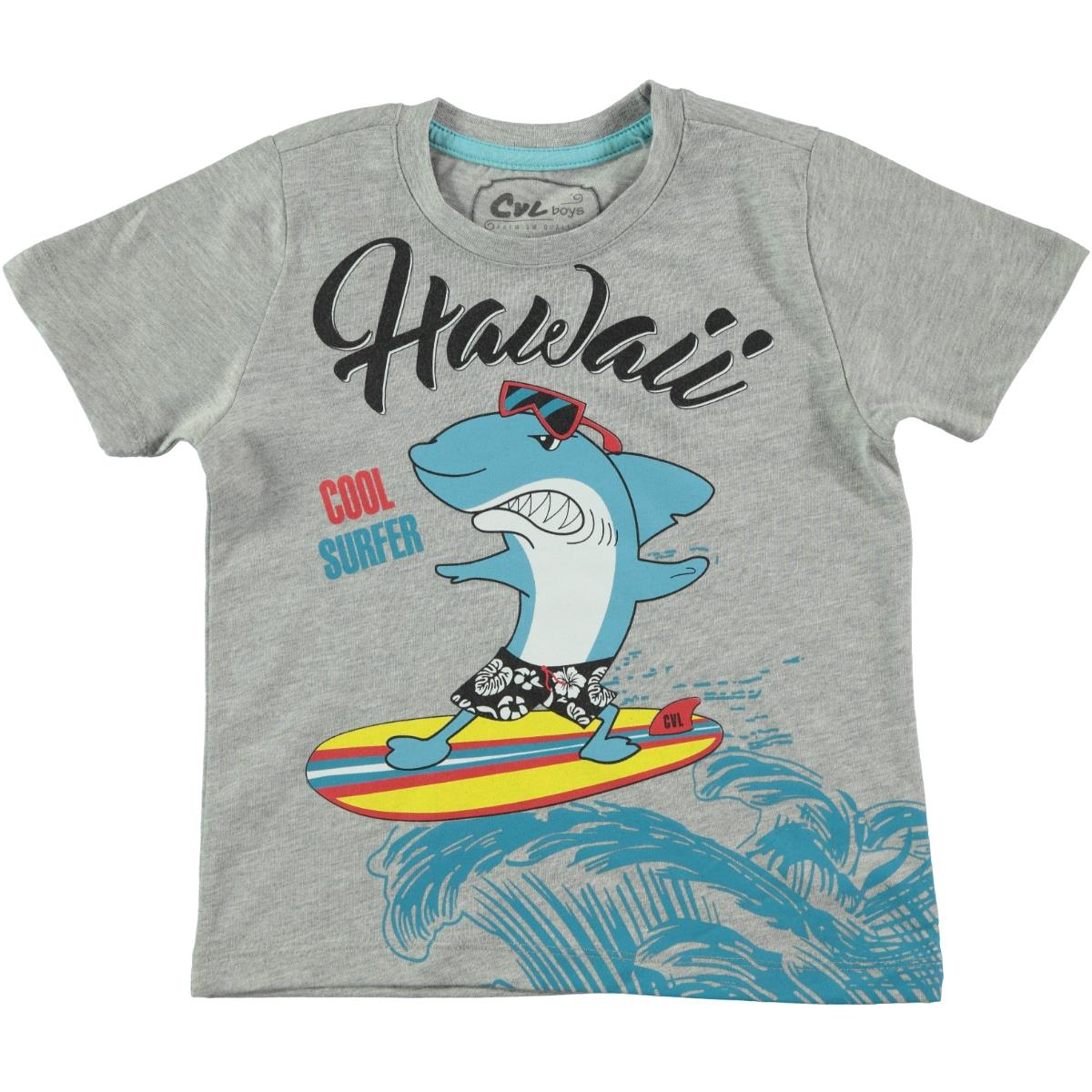 Cvl Boy T-Shirt Gray 2-5 Years