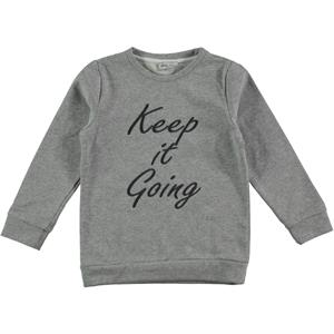 Cvl Age 6-9 Boy Gray Sweatshirt