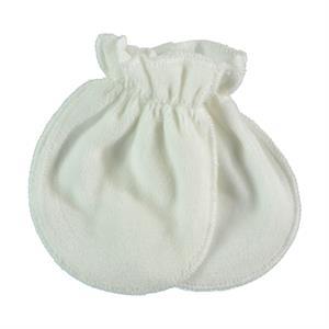 Kujju Baby Ecru Velvet Glove