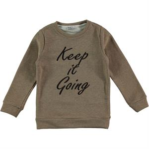 Cvl Brown Sweatshirt Boy Age 6-9