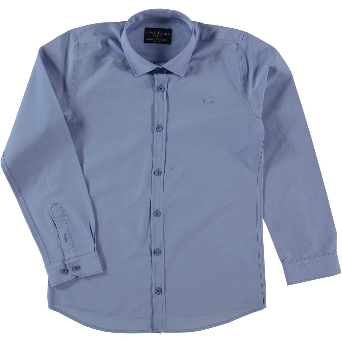 Civil Class Blue Shirt Boy Age 10-13