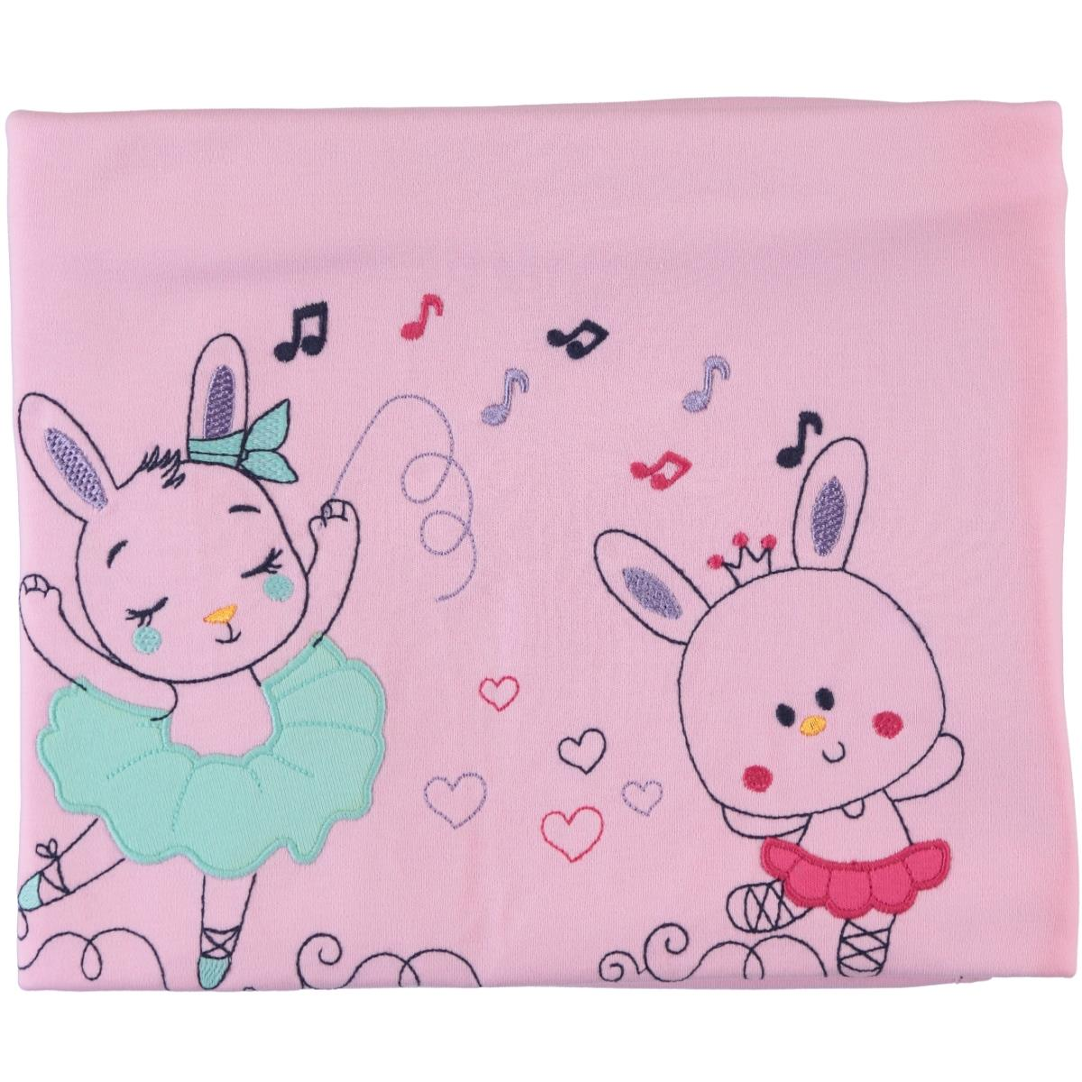 Civil Baby Baby girl Blanket Pink double 85x90 Cm