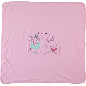 Civil Baby Baby girl Blanket Pink double 85x90 Cm (2)