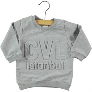 Civil Baby 6-18 Months Baby Sweatshirt Grey