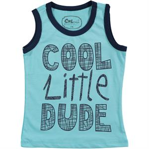 Cvl Boy T-Shirt Turquoise-2-5 Years