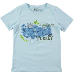 Cvl Boy T-Shirt Age 6-9 Blue