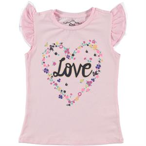 Civil Girls Cvl Girl Kids T-Shirt Pink 6-9 Years Old