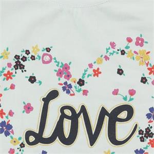 Cvl Kids Girl T-Shirt 6-9 Years Old, White (3)