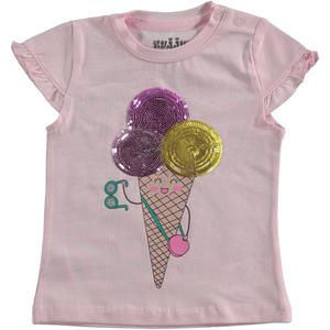 Kujju Baby Girl T-Shirt Pink, 6-18 Months