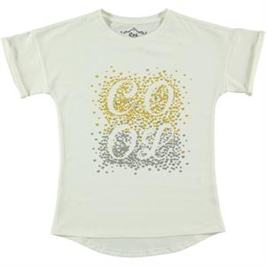 Cvl Girl Kids T-Shirt Ecru Age 10-13