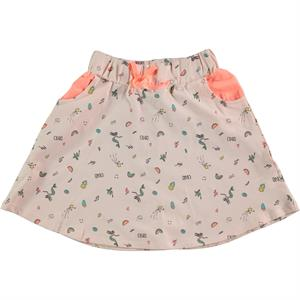 Cvl Powder Pink Skirt Girl Age 6-9