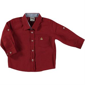 Civil Baby Baby Boy 6-18 Months Red Shirt