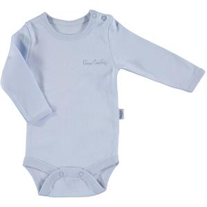 Pierre Cardin Baby 0-36 Months, Blue Bodysuit With Snaps