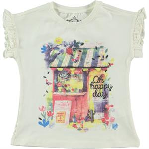 Cvl Girl Kids T-Shirt Ecru 2-5 Years