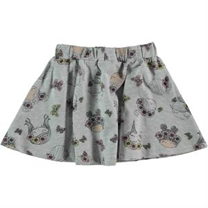 Cvl Girl Gray Skirt 2-5 Years