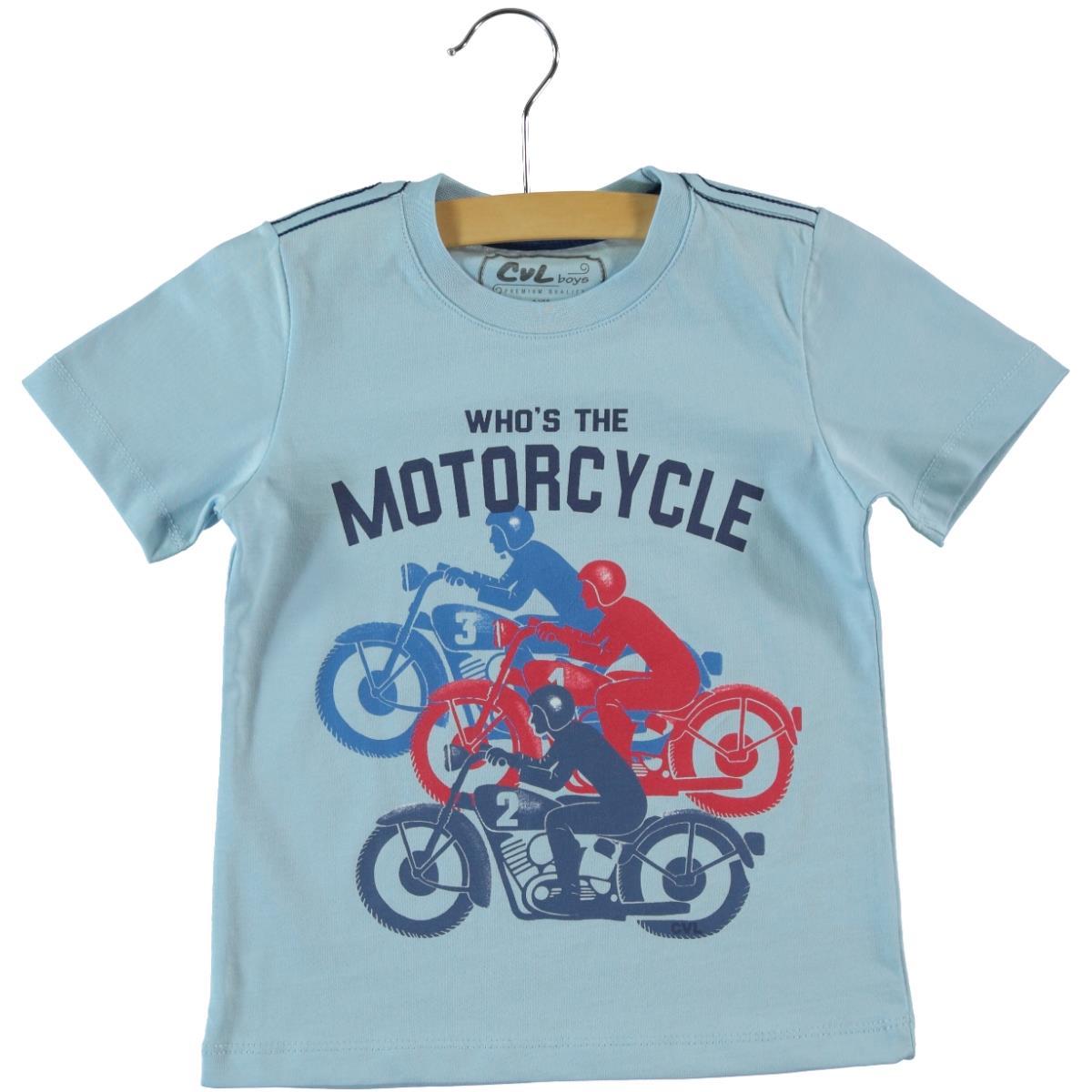 Cvl Boy T-Shirt Blue 2-5 Years