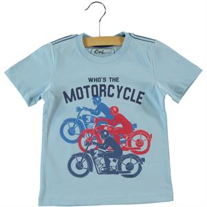 Cvl Boy T-Shirt Blue 2-5 Years