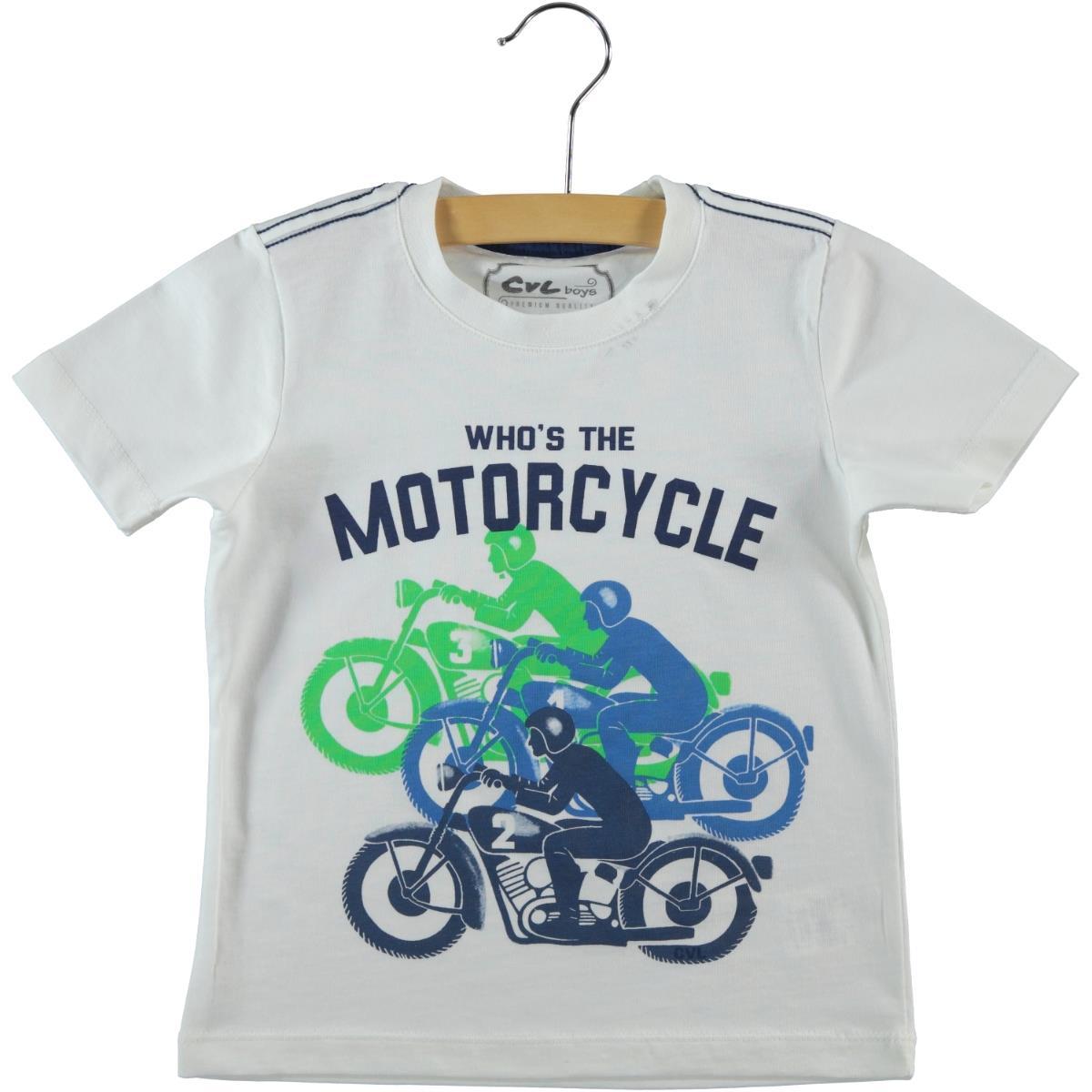 Cvl Boy T-Shirt Ecru 2-5 Years