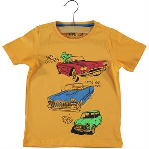 Cvl Boy T-Shirt Mustard 2-5 Years