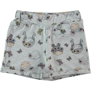 Cvl Age 6-9 Boy Girl Gray Shorts